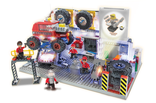 Laser Pegs: Rally Garage