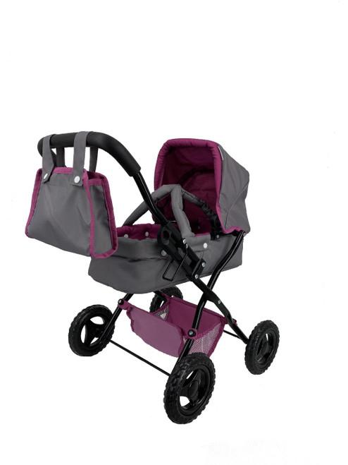 Melange Small Doll Pram/Stroller