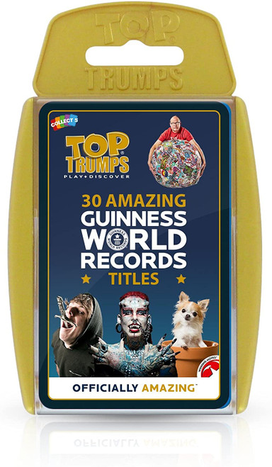 Top Trumps Guinness World Records