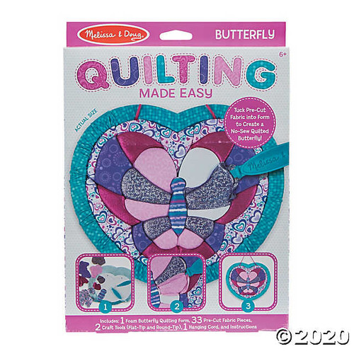 Melissa & Doug Quilting Made Easy - Butterfly