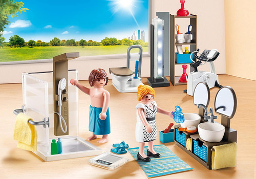 Playmobil Bathroom Set