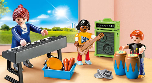 Playmobil  Music Class Carry Case