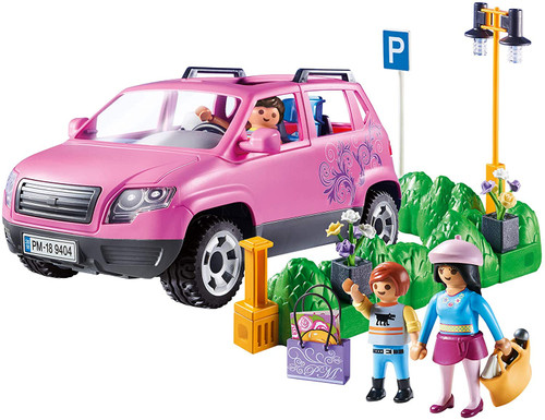 Playmobil Family Car with Parking Space