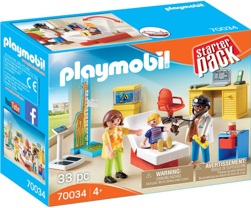 Playmobil Pediatrician's Office and Figure Pack Playset