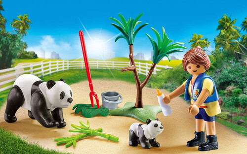 Playmobil  Panda Caretaker Carry Case