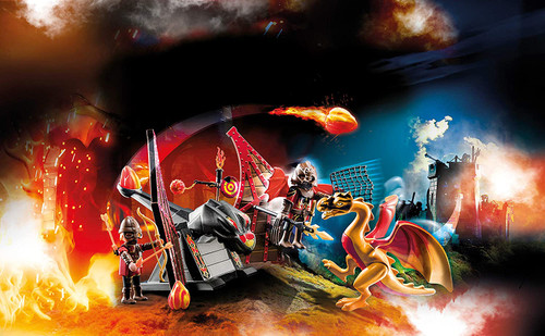 Playmobil Novelmore Burnham Raiders Dragon Training Playset