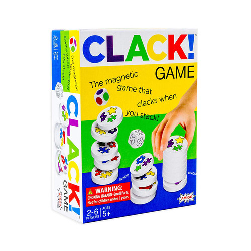CLACK! Kids Magnetic Stacking Game