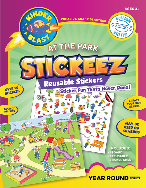 At the Park Stickeez Reusable Stickers