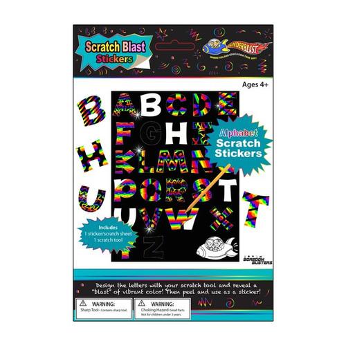 Alphabet Scratch Stickers