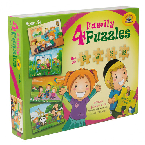 4 in 1 Family Puzzle