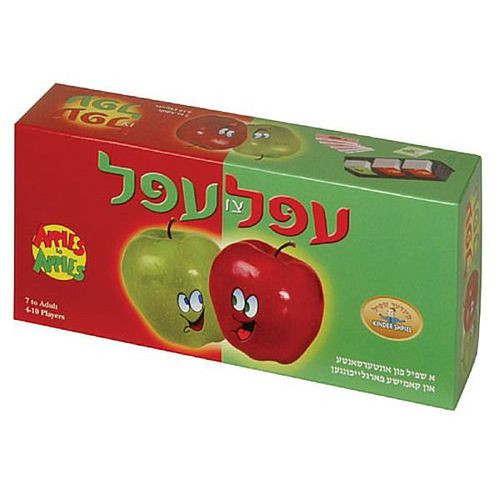Apples to Apples Yiddish Edition