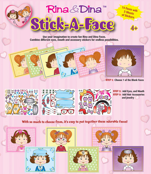 Rina and Dina Stick -A- Face