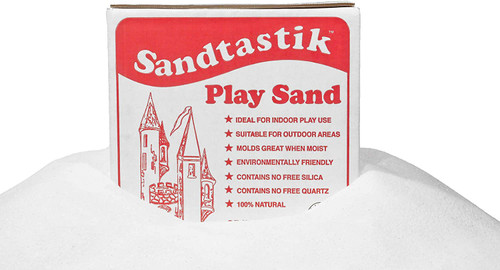 White Play Sand 25 Pounds