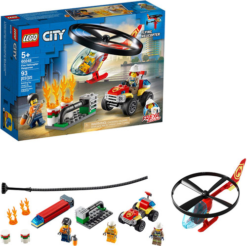 Lego City Fire Helicopter Response