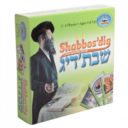 Shabbos'dig Card Game