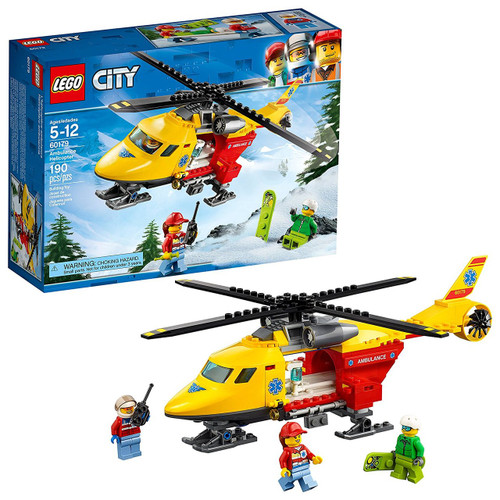 Lego City Ambulance Helicopter #60179