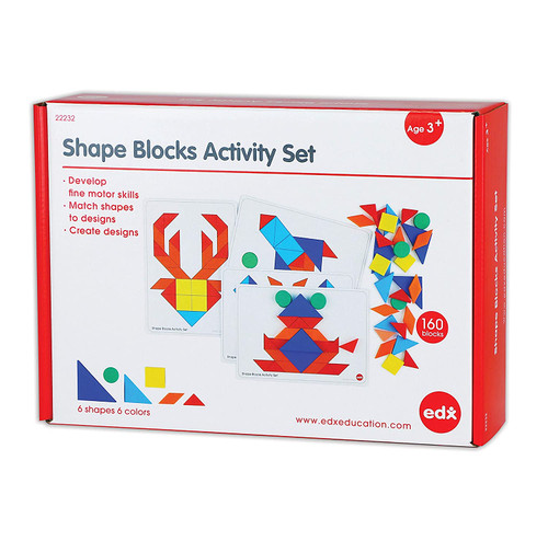 Shape Blocks Activity Set