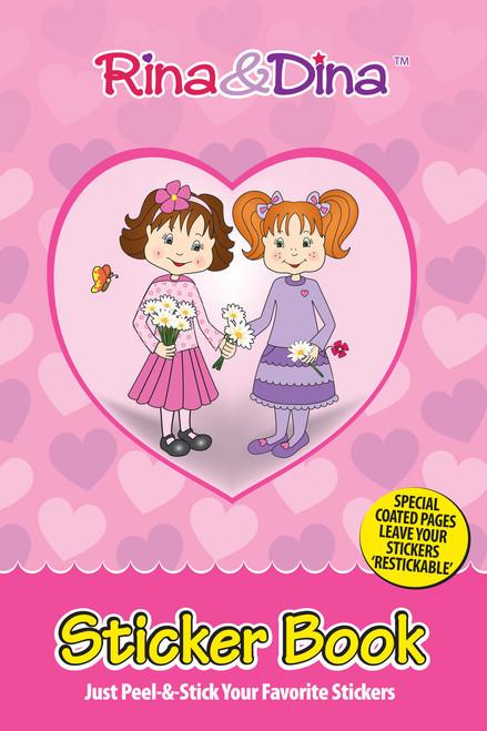 Rina and Dina Re-stickable Sticker Book
