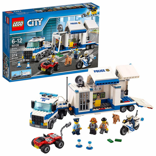 Lego City Police Mobile Command Center #60139