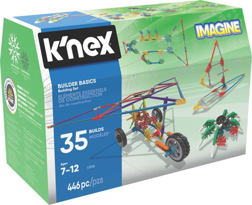 Knex Builder Basics 446 Pieces