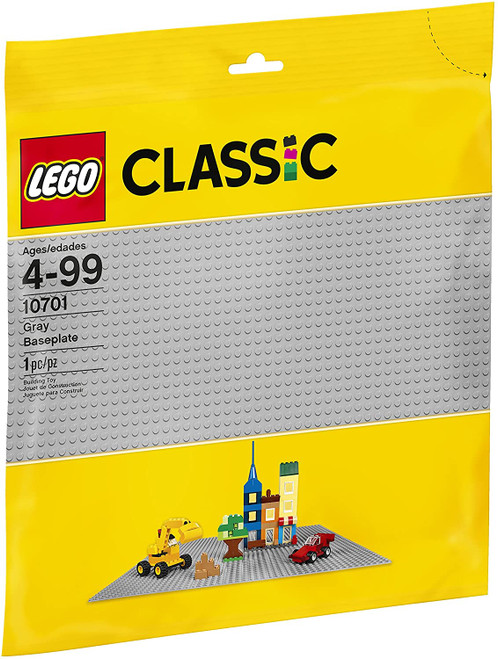 Lego Classic Gray Baseplate