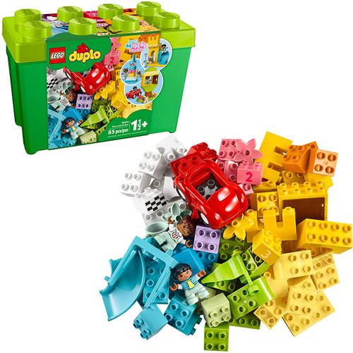 Lego Duplo Classic Deluxe Brick Box 85 Piece Set