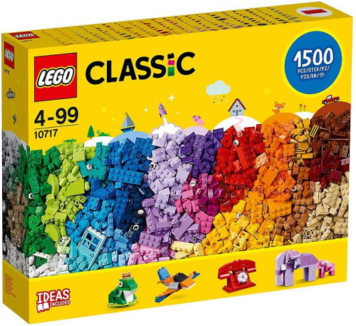 Lego Classic Bricks Bricks Bricks 1500 Piece Set