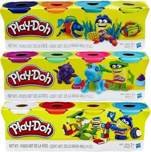 Play-Doh 4 Pack Assorted Colors