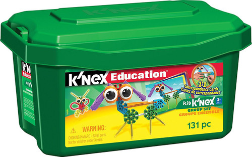 Kid K'nex Group Building Set 131 Pieces