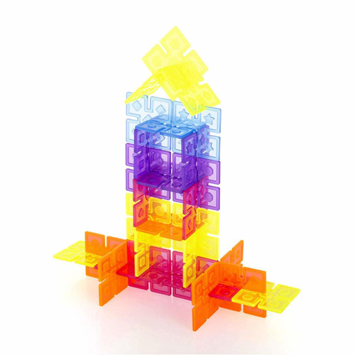 Interlox Squares Building Set