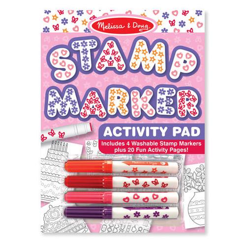 Stamp Marker Activity Pad Pink