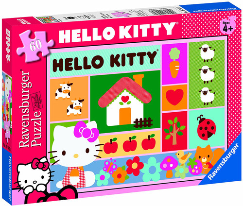 Hello Kitty Patchwork 60 Piece Puzzle