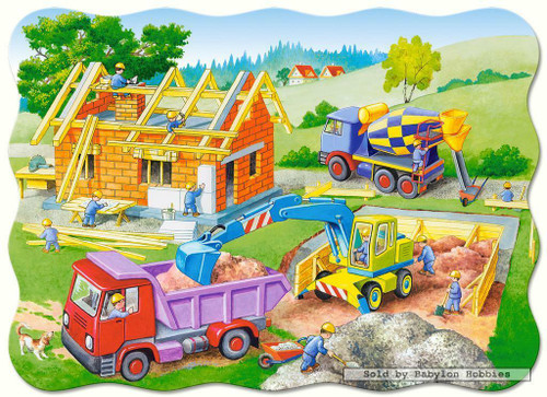 Building a House 30 Piece Jigsaw Puzzle