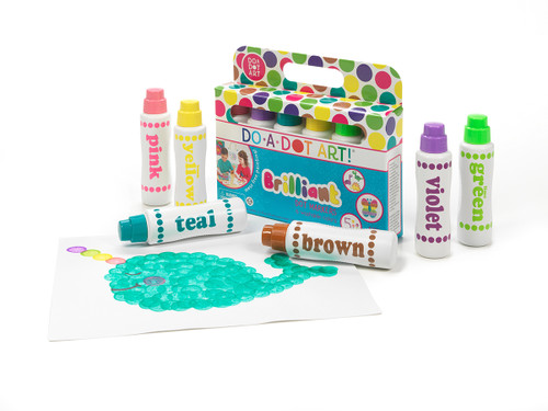Do a Dot Brilliant 6 Pack Dot Markers