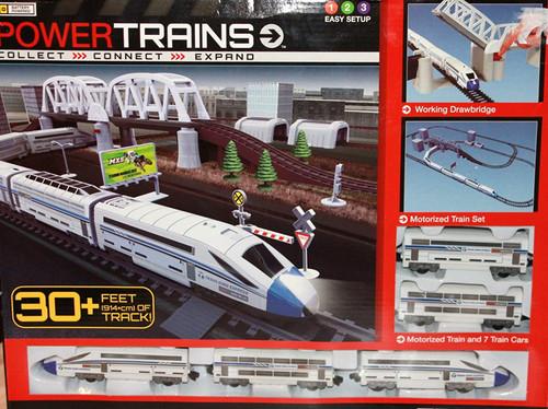Power Trains Motorized Deluxe City Train Set