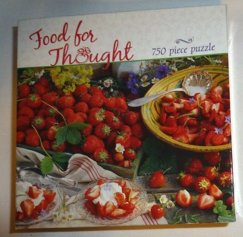 Food For Thought Strawberries 750 Piece Puzzle