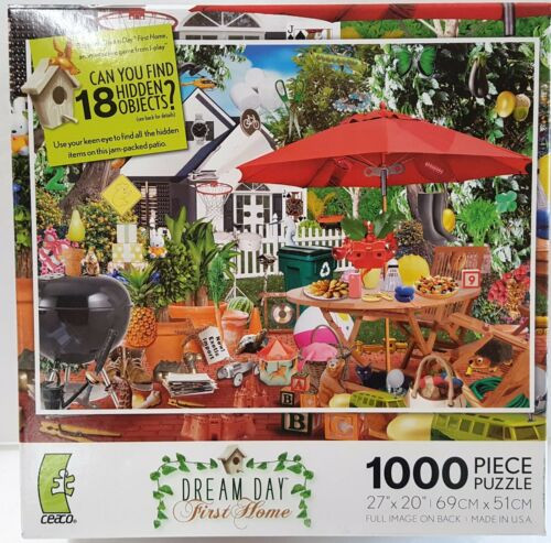Dream Day First Home Puzzle 1000 Piece Puzzle