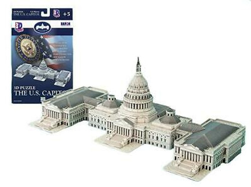 3D US Capital Building