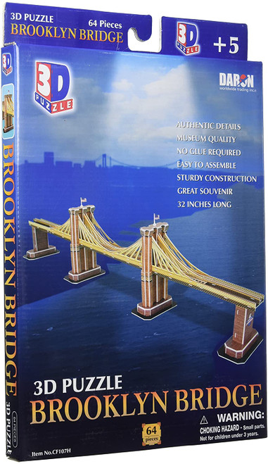 3D Brooklyn Bridge Puzzle