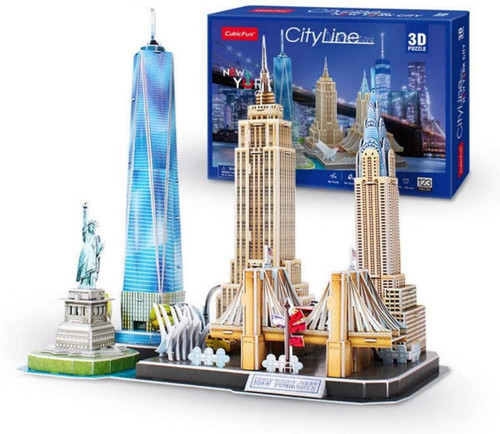 3D Cityline Series New York Puzzle