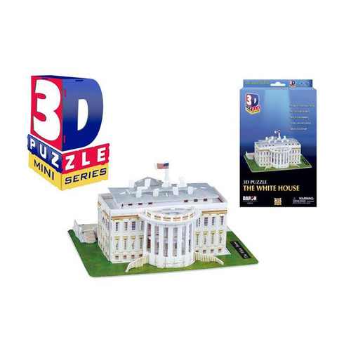 3D Mini White House