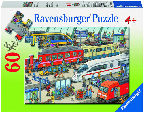 Ravensburger Railway Station 60 Piece Jigsaw Puzzle