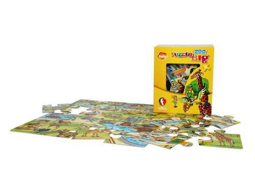 Big Puzzle Zoo 24 Piece Puzzle