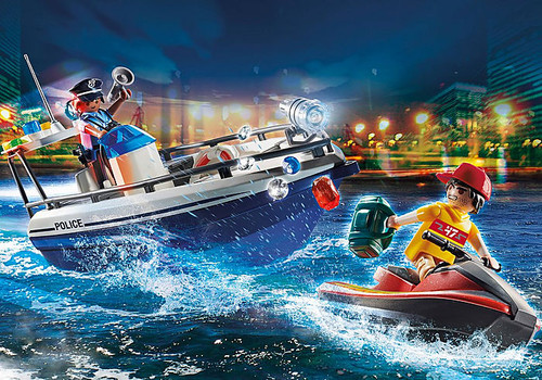 Playmobil Jewel Heist Getaway