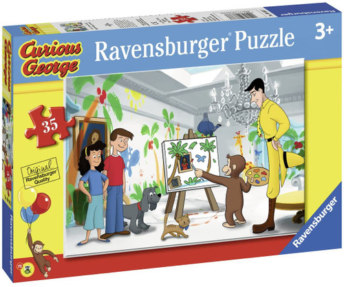 Ravensburger Look Curious George! 35 Piece Jigsaw Puzzle