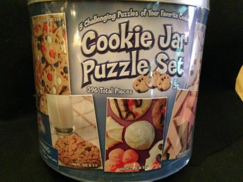 Cookie Jar Set 5 jigsaw Puzzles
