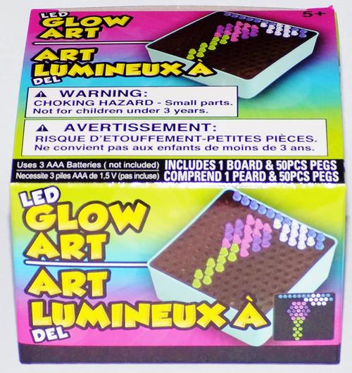 Mini Glow Art Board & Pegs