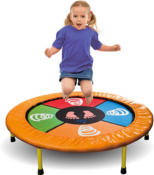 Dance and Bound Electronic Trampoline