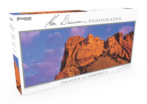 Mount Rushmore Panoramic Puzzle 504pc