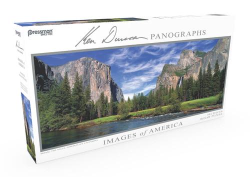 Panoramic Puzzle Bridal Veil Falls